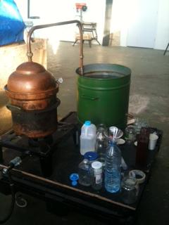 distillatore intero
